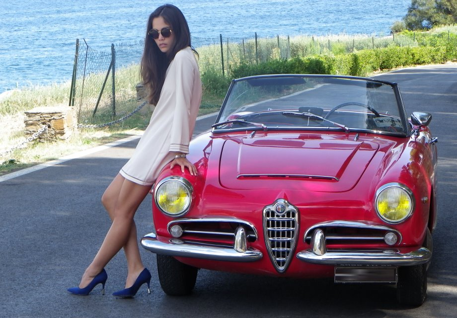 location alfa rom o spider 1600 1964 rouge 1964 rouge saint aygulf. Black Bedroom Furniture Sets. Home Design Ideas