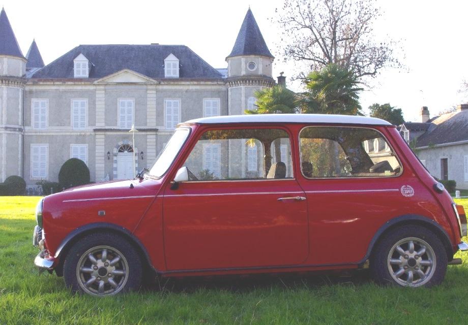 location austin mini cooper 1991 rouge 1991 rouge pau. Black Bedroom Furniture Sets. Home Design Ideas