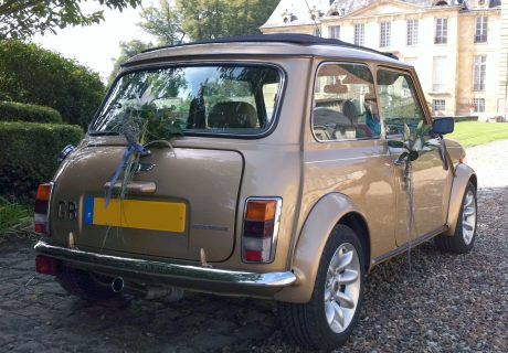 location austin mini cooper s knightsbridge 2000 champagne 2000 champagne or meaux. Black Bedroom Furniture Sets. Home Design Ideas