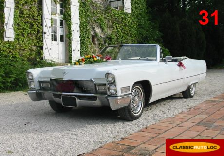 location cadillac deville cabriolet 1968 blanc 1968 blanc balma. Black Bedroom Furniture Sets. Home Design Ideas