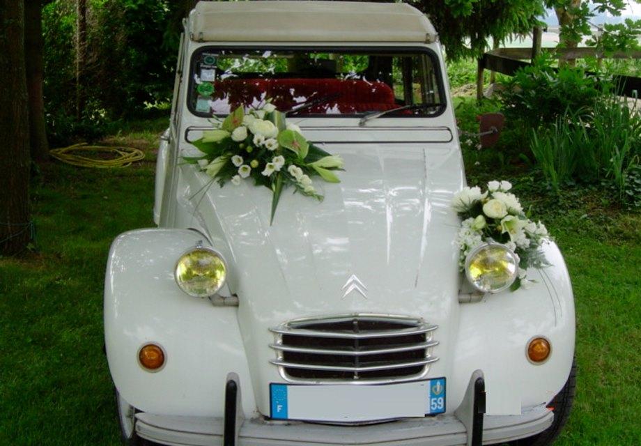 decoration mariage 2cv