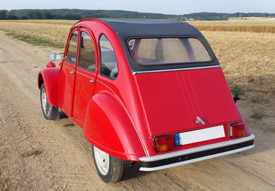 location citro u00ebn 2cv 1986 rouge 1986 rouge neauphle le chateau