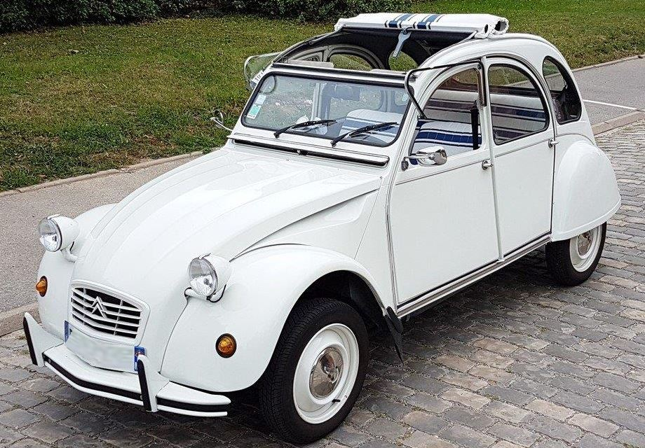 location citroen 2cv 6 1989 blanc 1989 blanc paris