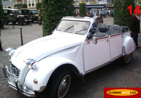 citroen 2cv decapotable