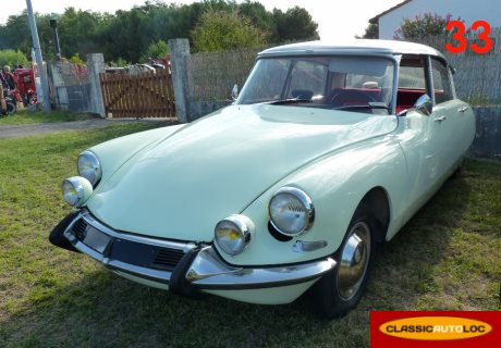location citroen ds 19 1965 vert pastel 1965 vert pastel langon. Black Bedroom Furniture Sets. Home Design Ideas