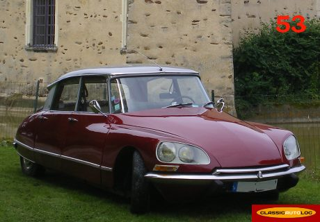 location citroen ds 21 1969 bordeaux gris 1969 bordeaux. Black Bedroom Furniture Sets. Home Design Ideas