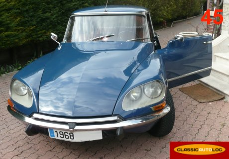 location citroen ds 21 pallas 1968 bleu 1968 bleu boiscommun. Black Bedroom Furniture Sets. Home Design Ideas
