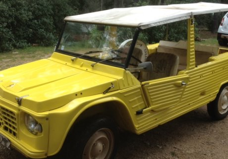 location citroen mehari 1982 jaune 1982 jaune la cadiere. Black Bedroom Furniture Sets. Home Design Ideas