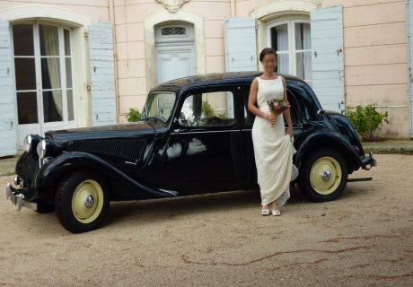 location citroen traction 11 bl 1953 noire 1953 noire puyricard. Black Bedroom Furniture Sets. Home Design Ideas