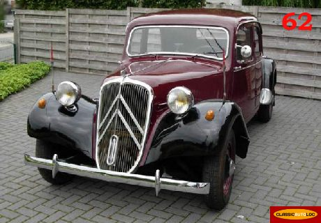 location citroen traction 11b large 1953 1953 bordeaux et noir lens. Black Bedroom Furniture Sets. Home Design Ideas