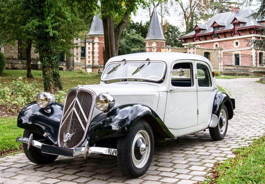 location citro n traction 11bl 1950 blanc et noir 1950 beige puteaux. Black Bedroom Furniture Sets. Home Design Ideas