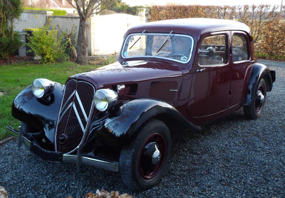 location citro u00ebn traction 1938 bordeaux  noir 1938 bordeau    noir azay sur cher