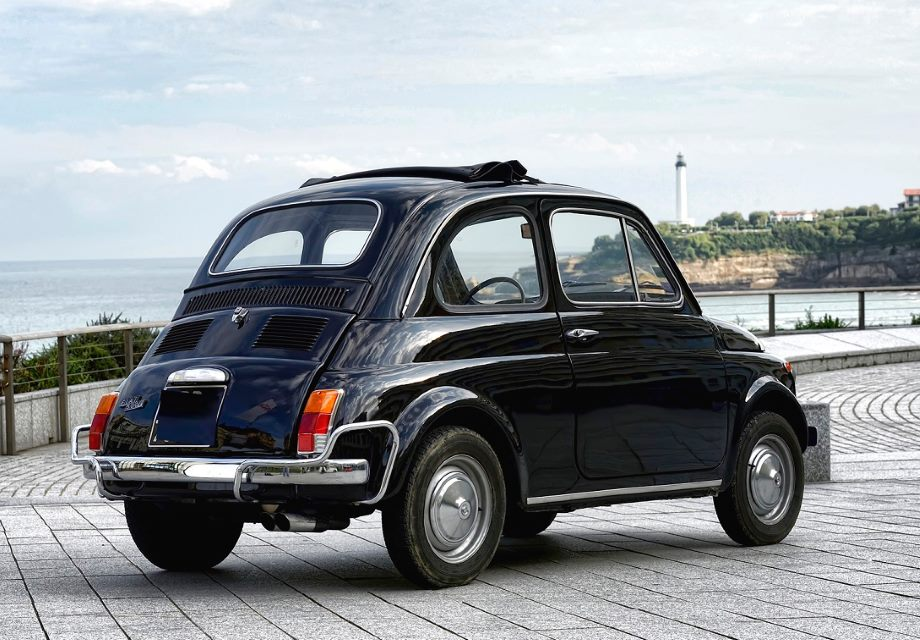 location fiat 500 1971 noir 1971 noir bayonne. Black Bedroom Furniture Sets. Home Design Ideas