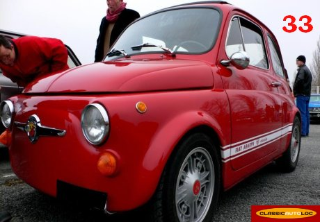 location fiat 500 abarth 1969 1969 rouge pessac. Black Bedroom Furniture Sets. Home Design Ideas