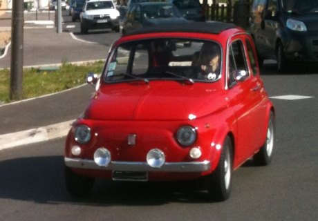 location fiat 500 l 1969 rouge 1969 rouge fos sur mer. Black Bedroom Furniture Sets. Home Design Ideas
