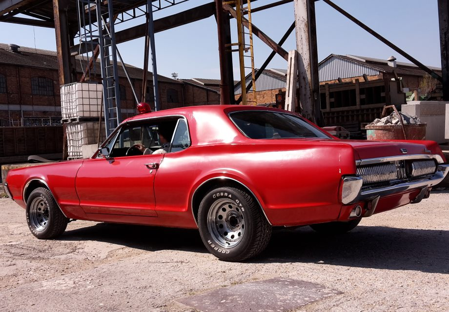 Location ford mercury cougar 1967 rouge 1967 rouge saint for Garage autocash saint maur