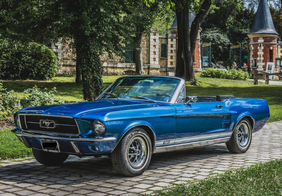 location ford mustang 1965 bleu 1965 bleu nanterre. Black Bedroom Furniture Sets. Home Design Ideas