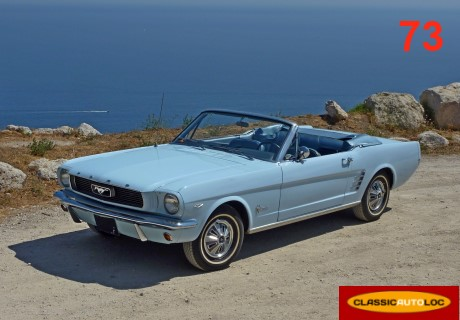 location ford mustang 1966 bleu ciel 1966 bleu ciel chambery. Black Bedroom Furniture Sets. Home Design Ideas