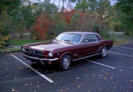 location ford mustang 1966 bordeaux 1966 bordeaux le mans. Black Bedroom Furniture Sets. Home Design Ideas