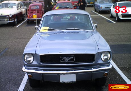 Location Ford Mustang 1966 grise
