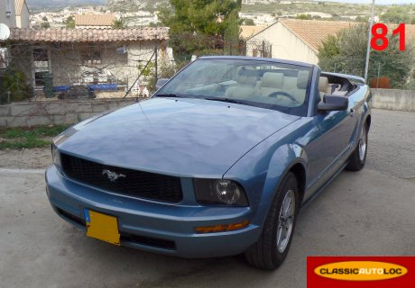 location ford mustang 2006 bleu 2006 bleu lavaur. Black Bedroom Furniture Sets. Home Design Ideas