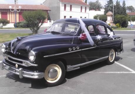 location ford vedette 1953 noire 1953 noire st michel de rieufret. Black Bedroom Furniture Sets. Home Design Ideas