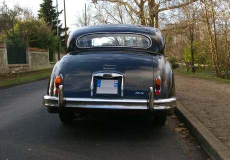 Location Jaguar Mark 9 (Mk IX) 1959 noir, bordeaux 1959 noir, bordeaux ...