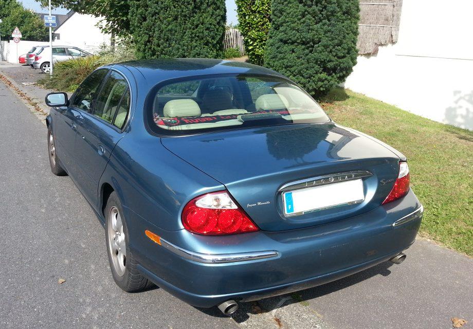 Location Jaguar S-TYPE 1999 BLEUE 1999 BLEUE BREST