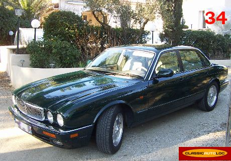 location jaguar xj6 1995 vert anglais 1995 vert anglais baillargues. Black Bedroom Furniture Sets. Home Design Ideas