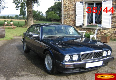 location jaguar xj6 gold 1994 bleue 1994 bleue la noe blanche. Black Bedroom Furniture Sets. Home Design Ideas