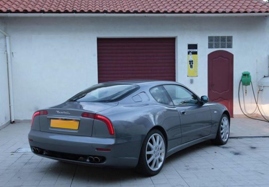 Location Maserati 3200 GT 2001 Gris anthracite 2001 Gris ...