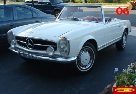 Location Mercedes Benz 250 Sl Pagode 1968 Blanc 1968 Blanc