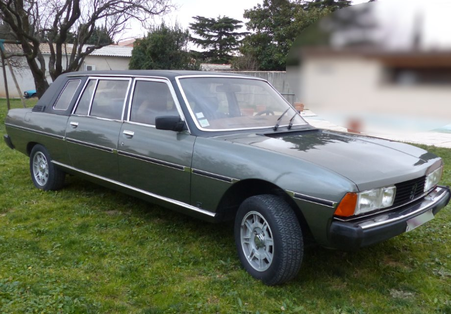 location peugeot 604 limousine 1984 verte 1984 verte bouillargues. Black Bedroom Furniture Sets. Home Design Ideas