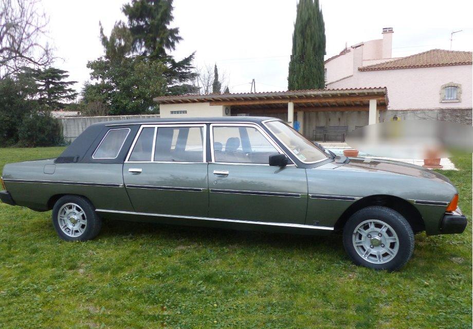 location peugeot 604 limousine 1984 verte 1984 verte bouillargues. Black Bedroom Furniture Sets. Home Design Ideas