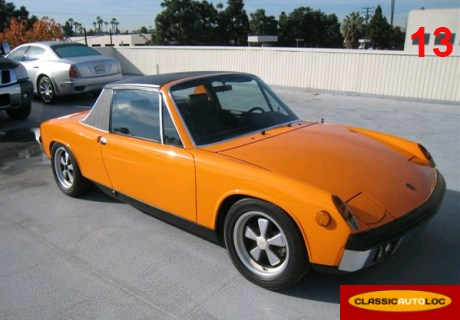 location porsche 914 6 1969 orange 1969 orange aix en provence. Black Bedroom Furniture Sets. Home Design Ideas