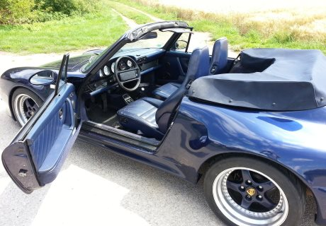 Location porsche 993 1995 bleue 1995 bleue cergy for Garage pf autos sa cergy