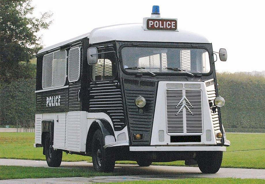 location citroen type h police 1962 noir blanc 1962 noir blanc villeneuve le roi. Black Bedroom Furniture Sets. Home Design Ideas