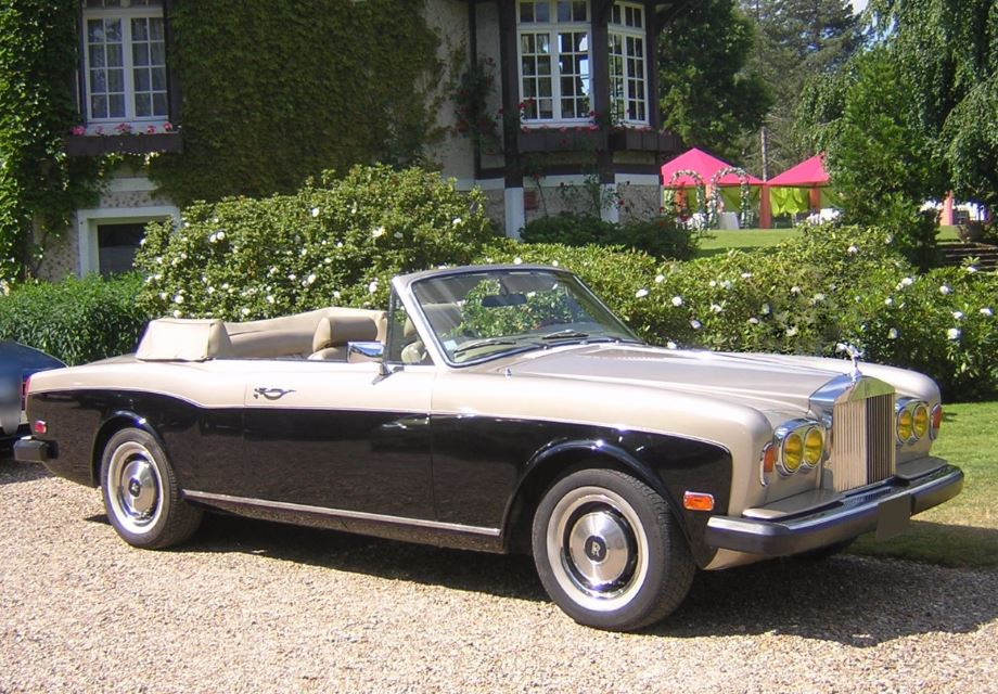 location rolls royce corniche cabriolet 1978 ivoire marron. Black Bedroom Furniture Sets. Home Design Ideas