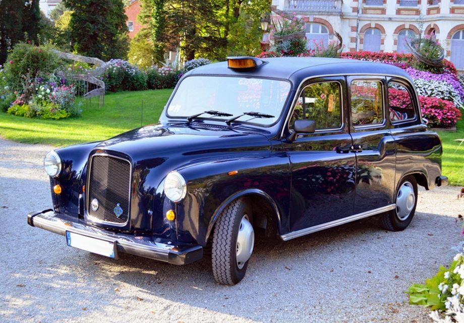 Célèbre Location Taxi anglais londonien Fairway 1997 Bleu 1997 Bleu Couthenans JA69