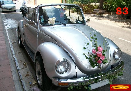 voiture coccinelle decoration