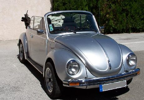coccinelle vw cabriolet ancienne