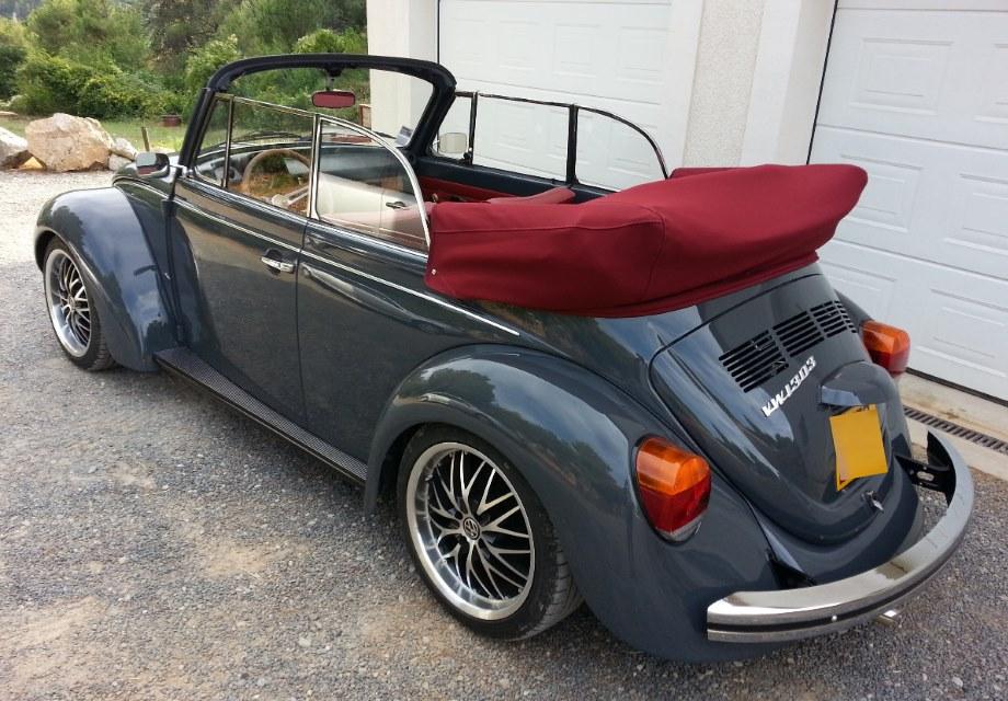 location volkswagen coccinelle 1975 gris et bordeaux 1975 gris et bordeaux la caunette. Black Bedroom Furniture Sets. Home Design Ideas