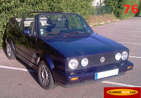 location vw golf 1990 bleu 1990 bleu le mesnil esnard. Black Bedroom Furniture Sets. Home Design Ideas