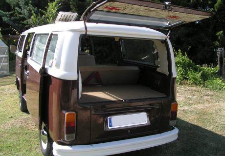 location volkswagen combit2 bay window 1973 1973 blanc. Black Bedroom Furniture Sets. Home Design Ideas