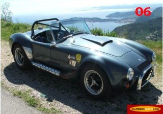 AC Cobra  1972 Bleu  Ford