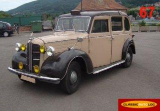 austin taxi anglais 1954 - Location Voiture Mariage Haut Rhin