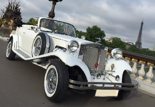 Beauford Open Tourer 1974 Blanc