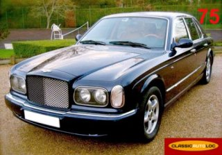 Bentley arnage 2000 bleu nuit