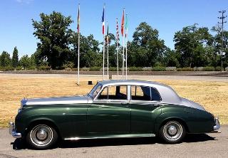 bentley s1 1959 vert et gris - Location Voiture Mariage Haut Rhin