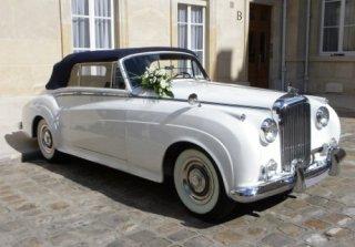 location bentley s1 cabriolet 1957 blanc 1957 blanc eaubonne. Black Bedroom Furniture Sets. Home Design Ideas